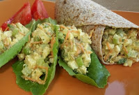 """Better Than Egg Salad"" Wraps"