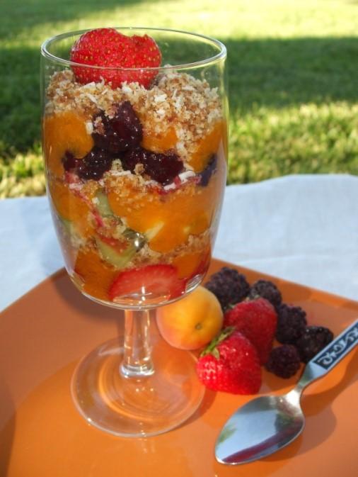 Summer Fruit Parfait